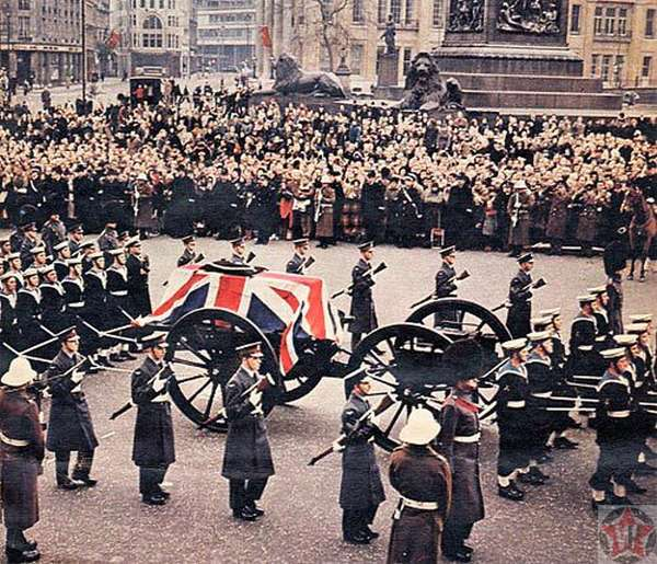 Похороны Уинстона Черчилля