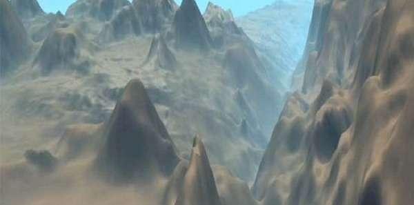 марианский желоб на карте