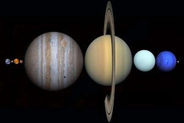 Какие существую планеты в солнечной системе