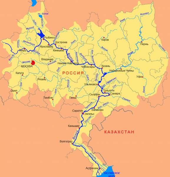 Города на Волге. Город на Волге. Река Волга. Список городов на Волге .