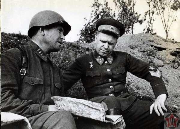Георгий Жуков на Резервном фронте