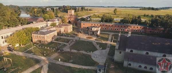 Внутренний двор Брестской крепости
