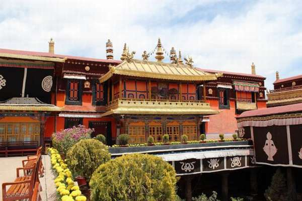Монастырь в Лхасе