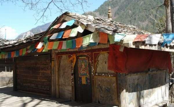 Жилище тибетцев