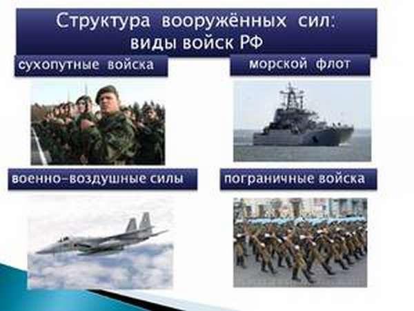 Войска в российской армии