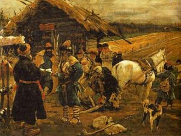 Этапы закрепощения крестьян