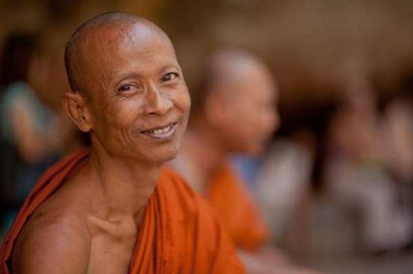 Буддийзский монах