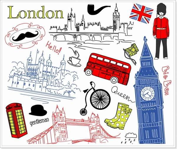 Достопримечательности Лондона: урок английского языка