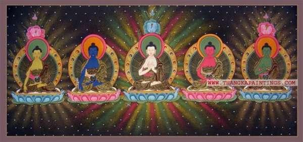 пять высших будд