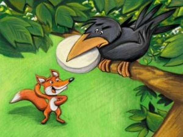 мораль басни крылова ворона и лисица