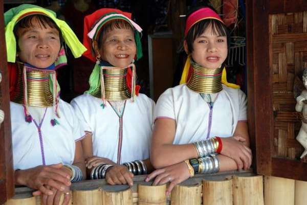 Бирманское племя
