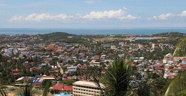 город в Камбодже