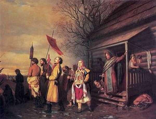 Провозглашение Манифеста перед народом