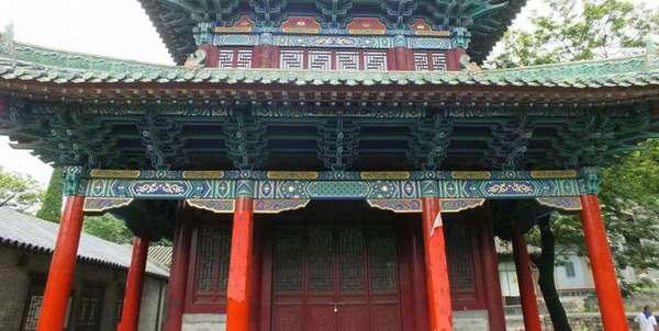 Китайский храм Шаолинь
