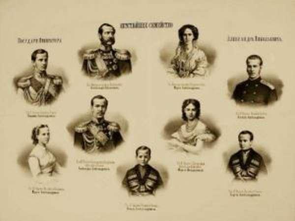 династия рюриковичей генеалогическое древо с фото