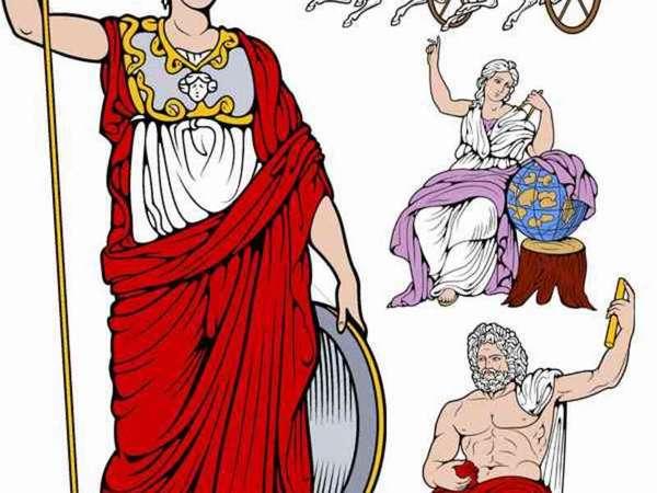 Древнегреческие божества