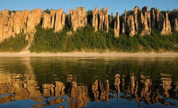 Национальный парк Ленские столбы, Россия (30 фото)