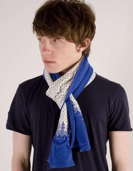 Мужской шарф кашне