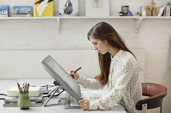 Для работы дизайнером не обязательно посещать офис