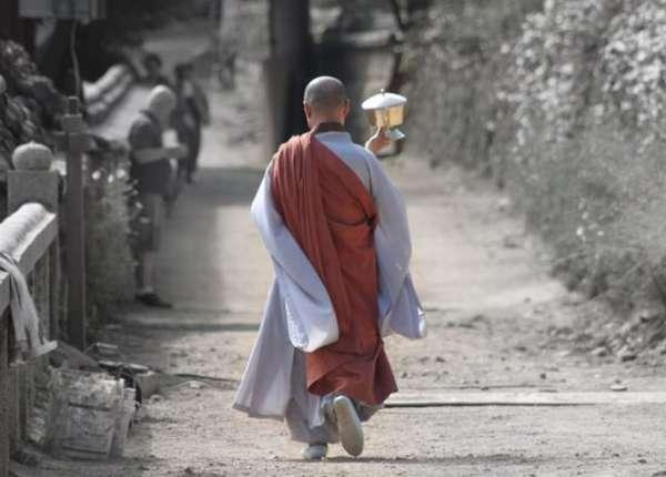 корейский монах