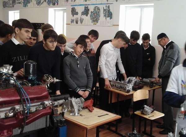 В Серноводском автодорожном техникуме