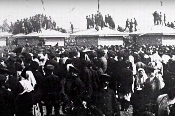 Давка на Ходынском поле в 1896 году