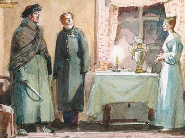 пушкин станционный смотритель краткое содержание