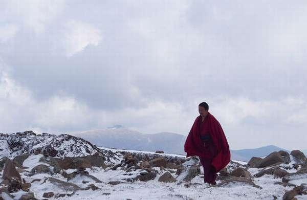 Заснеженные горы Тибета