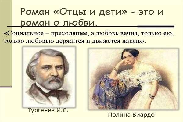 Роман Отцы и дети