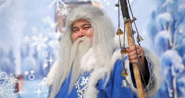 восточный дедушка мороз
