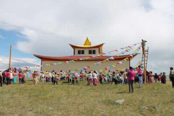 монастырь в Тыве