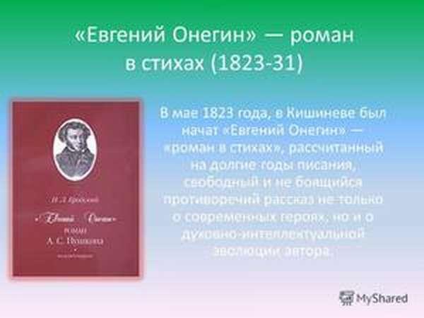 Кто написал Евгений Онегин