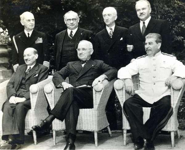 Потсдамская конференция 1945 года (кратко)