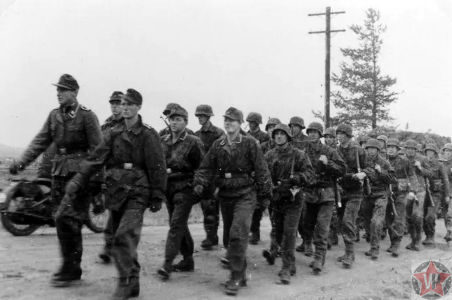 Дивизия вермахта перед сражением за Берлин