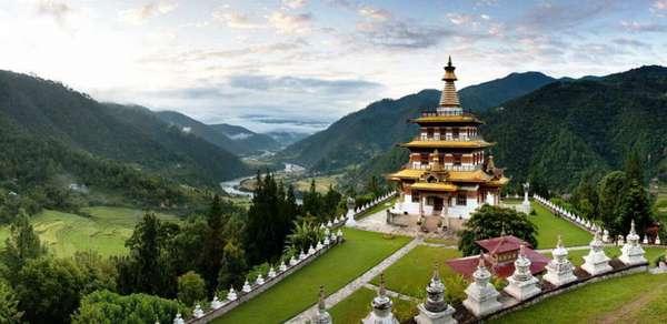храм в Бутане