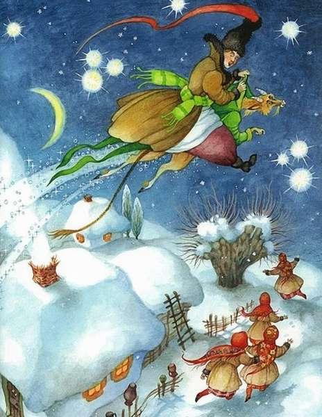 Ночь перед Рождеством (главные герои повести Гоголя)