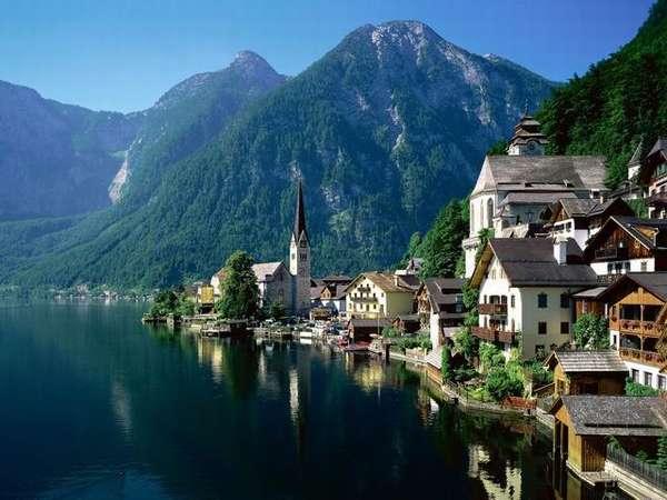Клагенфурт (Австрия) - город среди чистейших озер, что интересно ...