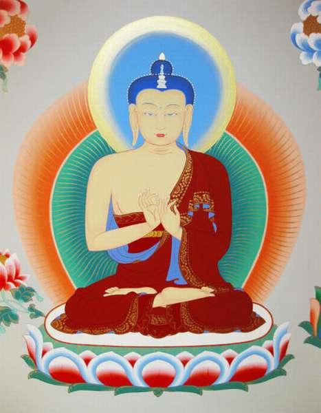 Изображение Будды Майтрейи
