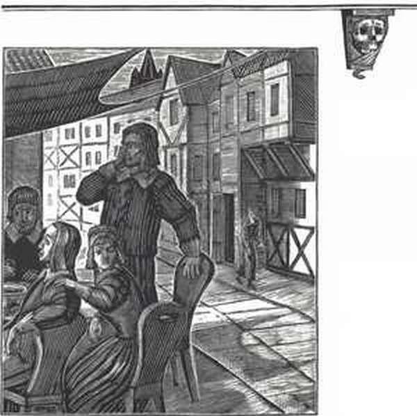 Иллюстрация к произведению Пушкина