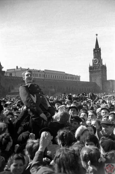 9 мая 1945 года в Москве на Красной площади