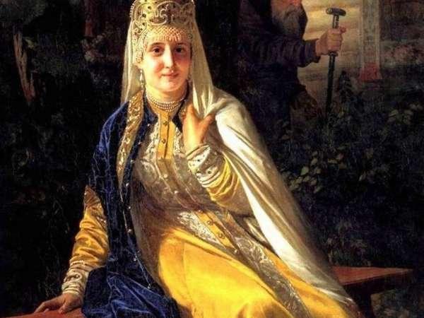 Седьмая жена Ивана Грозного Василиса Мелентьева