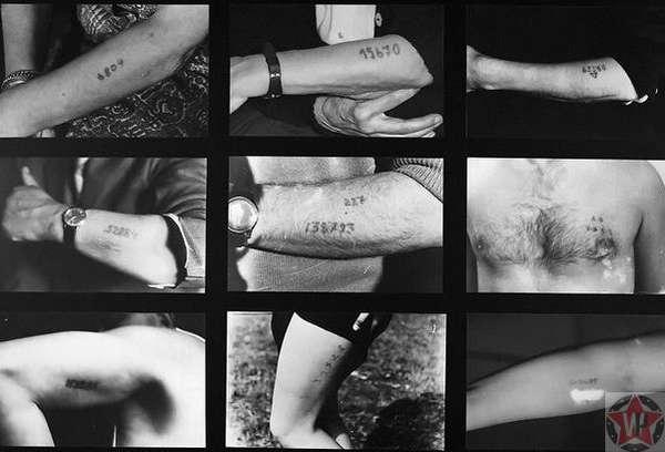 Татуировка номера узника в Освенциме