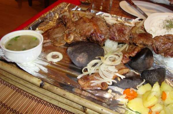 национальное монгольское блюдо