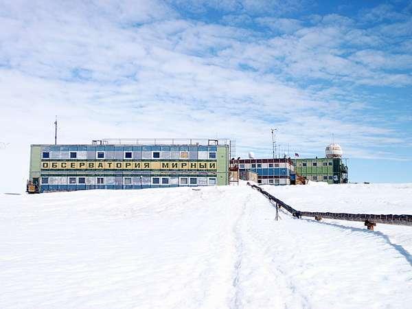 станция Мирный в Антарктиде