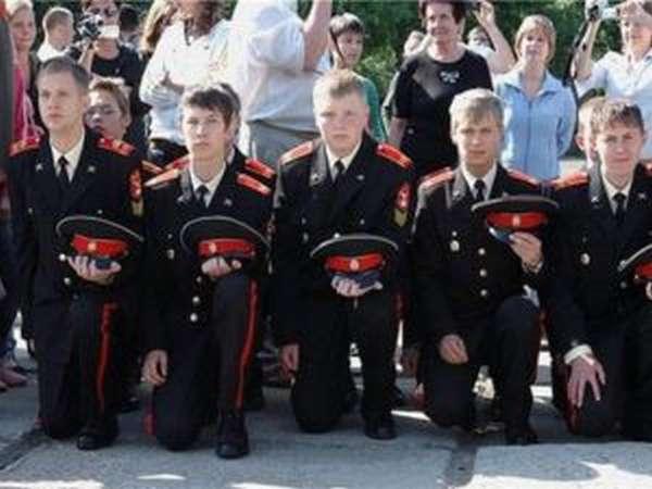 условия поступления в кадетский корпус
