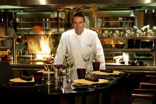 Шеф-повар в ресторане