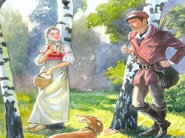 о чем повесть барышня крестьянка
