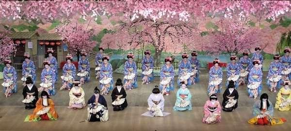 Традиционные японские танцы манящая тайна востока