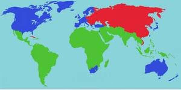 Основные признаки стран третьего мира
