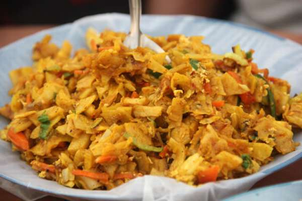 овощное блюдо Шри Ланки